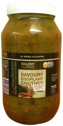 Maleny Cuisine Savoury Eggplant Chutney 2L