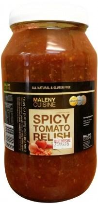 Maleny Cuisine Spicy Tomato Relish 2L