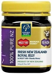 Manuka Health Fresh Royal Jelly in MGO 100+ Manuka Honey 250g