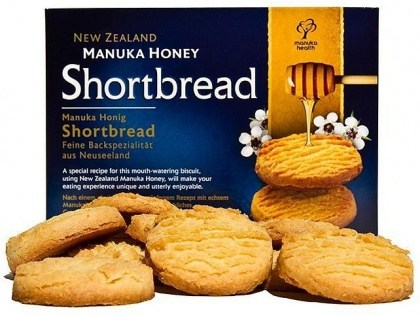 Manuka Health Honey Shortbread 250g