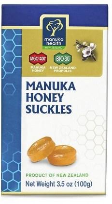 Manuka Health Manuka Honey & Propolis Suckles 100g