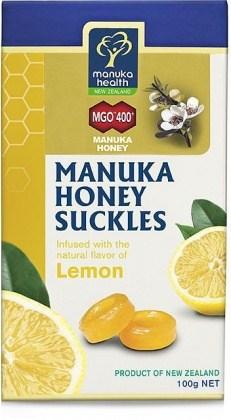 Manuka Health Manuka Honey Suckles Lemon 100g