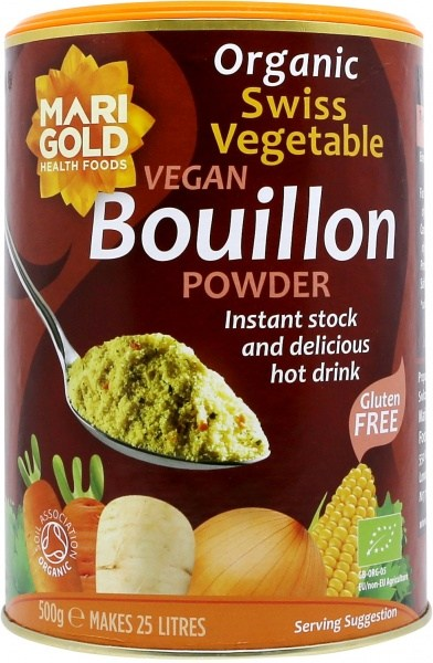 Marigold Swiss Bouillon Powder-Organic (Red) 500gm