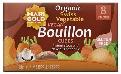 Marigold Swiss Organic Bouillon Cubes (Red) 84gm