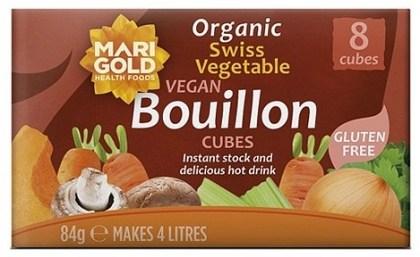 Marigold Swiss Organic Bouillon Cubes (Red) 84gm