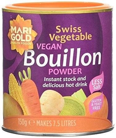 Marigold Vegan Bouillon -L/SaltYeastFree GlutenFree (Purple)150g