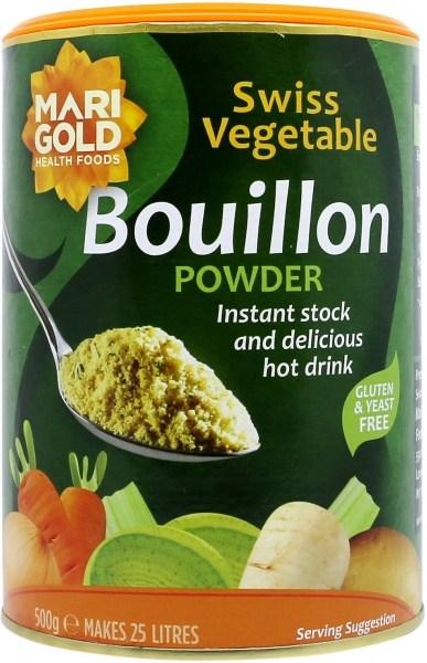 Marigold Vege Bouillon Powder YeastFree GlutenFree(Green) 500gm