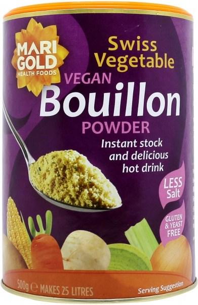 Marigold Vegetable Vegan Bouillon L/ Salt Powder (Purple) 500g