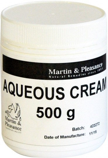 Martin & Pleasance Aqueous Cream 500gm