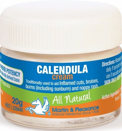 Martin & Pleasance Calendula Cream x20gm