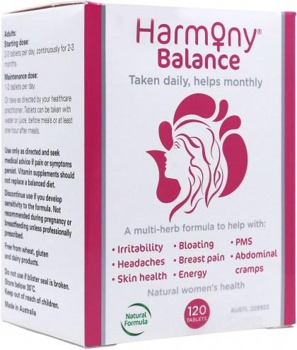 Martin & Pleasance Harmony Balance 120tabs