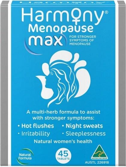 Martin & Pleasance Harmony Menopause Max 45Tabs