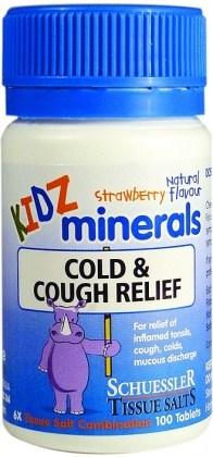 Martin & Pleasance Kidz Minerals Cold Relief 100t
