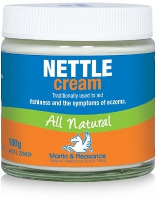 Martin & Pleasance Nettle Cream All Natural 100g Jar