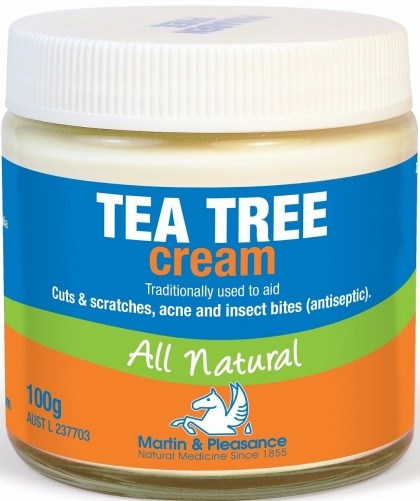 Martin & Pleasance Tea Tree Cream x100gm