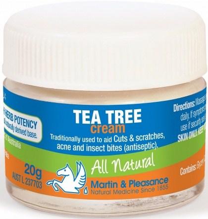 Martin & Pleasance Tea Tree Cream x20gm