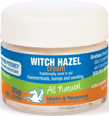 Martin & Pleasance Witch Hazel Cream x20gm
