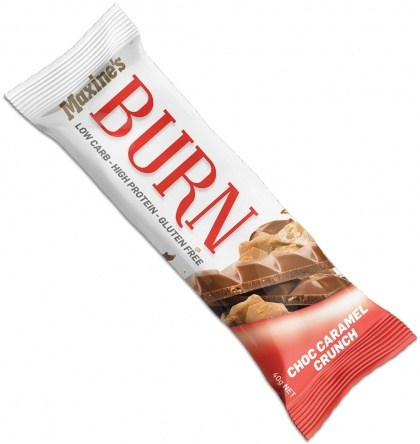Maxine's Burn Bar Double Choc Fudge  12x40g