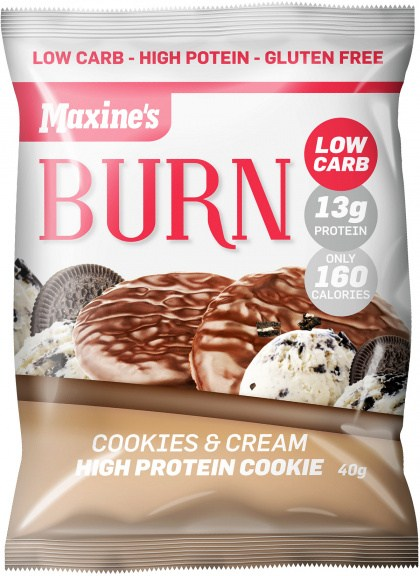 Maxine's Burn Cookie Cookies & Cream  12x40g