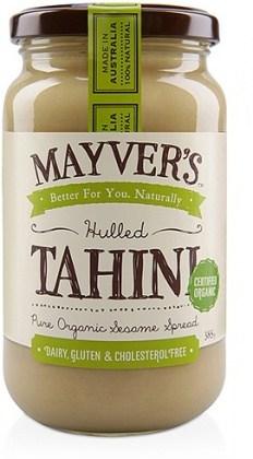Mayvers Organic Hulled Tahini 385gm