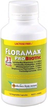 Medicines From Nature FloraMax Probiotic - 31 Billion Plus 120caps