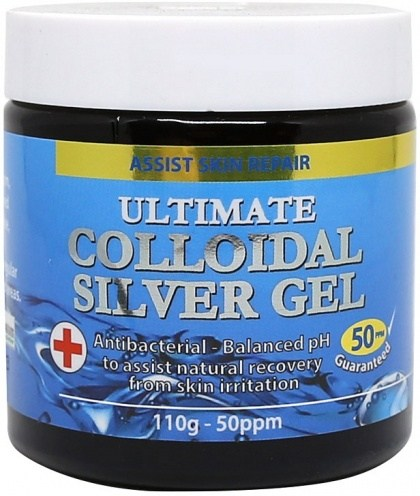 Medicines From Nature Ultimate Colloidal Silver Gel 110g