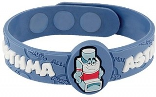 MediMates ALERT Wristband Asthma