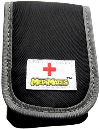 MediMates Asthma Puffer Case Black