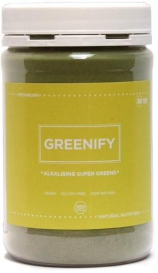 Megaburn Greenify Alkalising Super Greens 380g MAY21