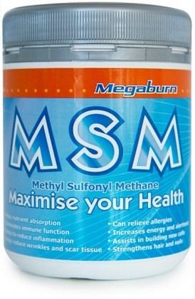 Megaburn MSM Powder 400g