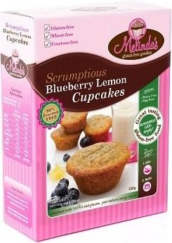Melindas Blueberry Lemon Cupcakes  Fructose Free Pre-Mix 320g