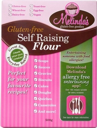 Melindas Self Raising Flour  500g