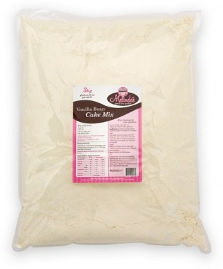 Melindas Vanilla Bean Cake Pre-mix  3Kg