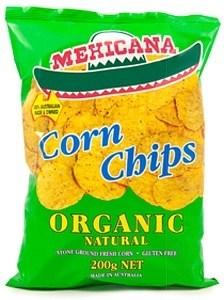 Mexicana Organic Corn Chips 200gm