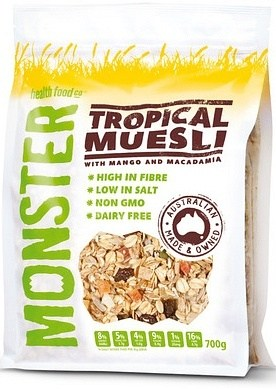 Monster Muesli Tropical Muesli 700g