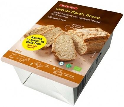 Mrs Brunt's Shake 'n Bake Gentle Earth Bread Light Organic Sourdough Bread w/Quinoa  350g