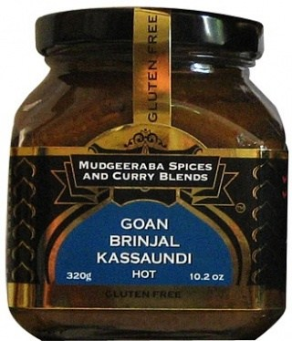 Mudgeeraba Goan Brinjal Kassundi 320g