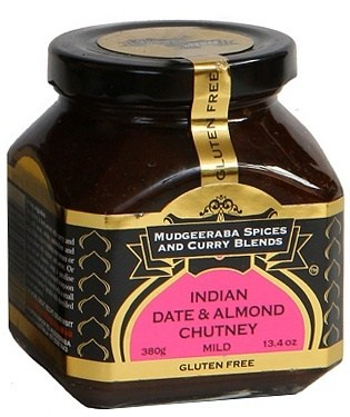 Mudgeeraba Indian Date & Almond Chutney  380g