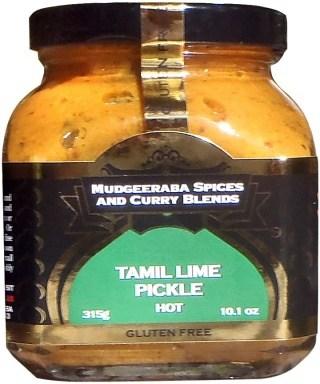 Mudgeeraba Tamil Lime Pickle 315g