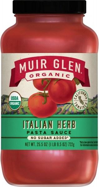 Muir Glen Pasta Sauce Italian Herb  723gm