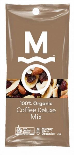 Murray River Organics Organic Coffee Deluxe Trail Mix Shots 12x35g