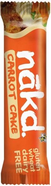 Nakd GF Carrot Cake Bar 18x35g