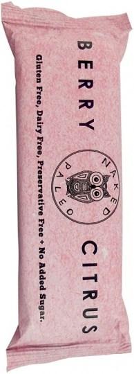 Naked Paleo Berry Citrus Bar  10x65g