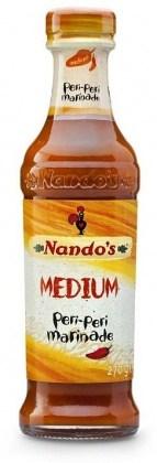 Nandos Medium Peri Peri Chicken Marinade 262g