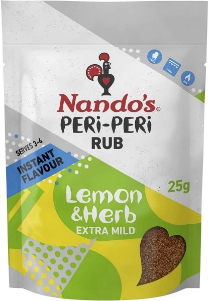 Nandos Peri Rubs Lemon & Herb Sachet 25g