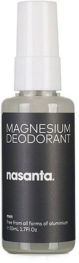 Nasanta Magnesium Mens Deodorant Spray 50ml