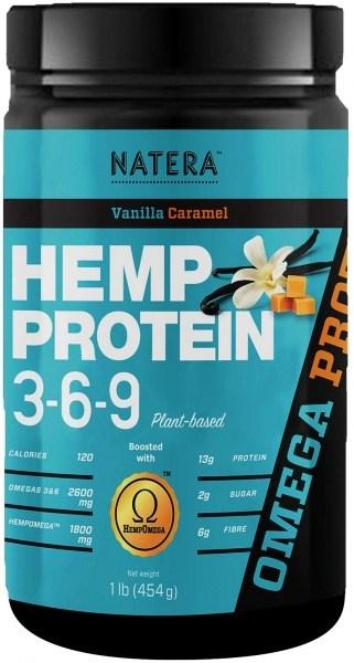Natera Hemp Protein 3-6-9 Vanilla Caramel 400g