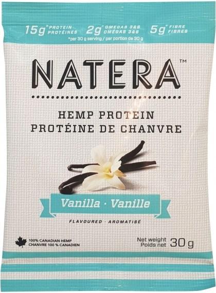 Natera Hemp Protein Vanilla 12x30g