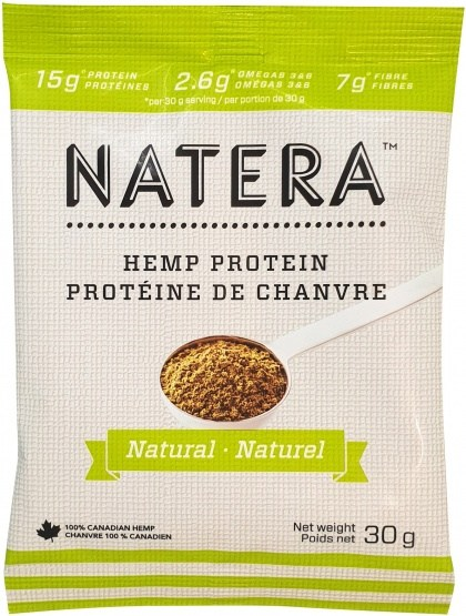 Natera Hemp Seed Sachet Natural 12x25g