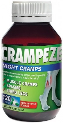 Natralia Crampeze Night Cramps 120 Capsules